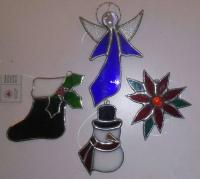 SG - Beginner Stained Glass - Christmas Ornament Class