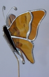 Plant Pick - 3D Butterfly - Amber