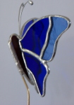 Plant Pick - 3D Butterfly - Blue