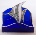 Business Card Holder - Angel Fish