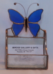 Business Card Holder, Butterfly