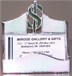 Business Card Holder, Financial
