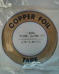 "Copper Foil - 3/16"" - Silver Backed"