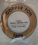 "Copper Foil - 7/32"" - Black Backed"