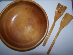 Alder Salad Bowl Set - DISPLAY ONLY